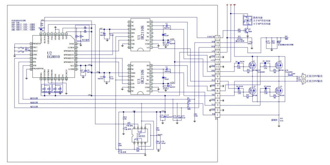 EG8010 Sine wave IC